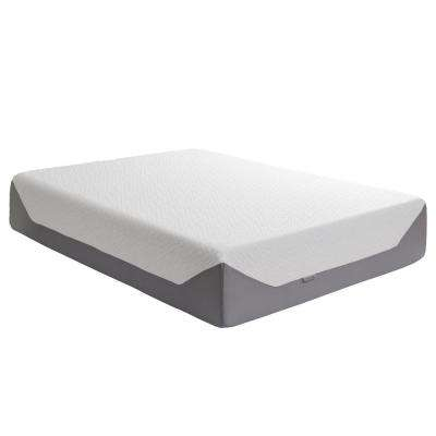 Sleep Collection 14 in. Queen Medium Firm Memory Foam Mattress