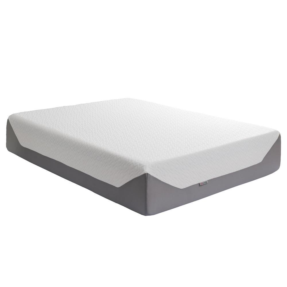 Sleep Collection 14 in. Queen Medium Firm Memory Foam Mattress