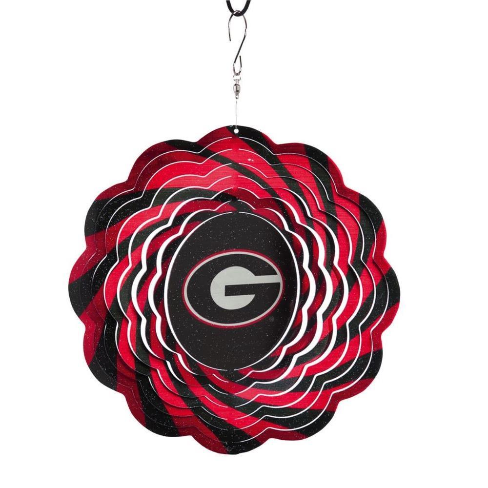 NCAA 10 in. University of Georgia Geo Spinner