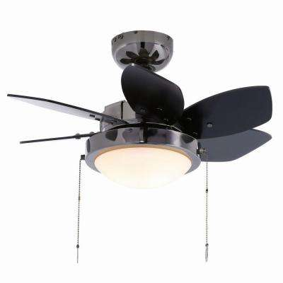 Quince 24 in. Indoor Gun Metal Ceiling Fan