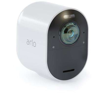 Ultra 4K Wire-Free Security Add-On Camera - White