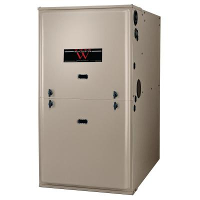 100,000 BTU 95% Efficient Single Stage Multi-Positional Residential Gas Furnace with ECM Blower Motor