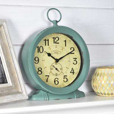 8.5 in. Ravelli Table Top Wall Clock