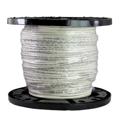 500 ft. 8/1 White Stranded THHN Wire