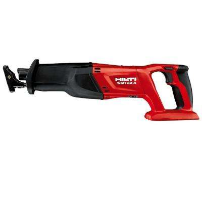 22-Volt Lithium-Ion Cordless Reciprocating Saw WSR 22 Tool Body