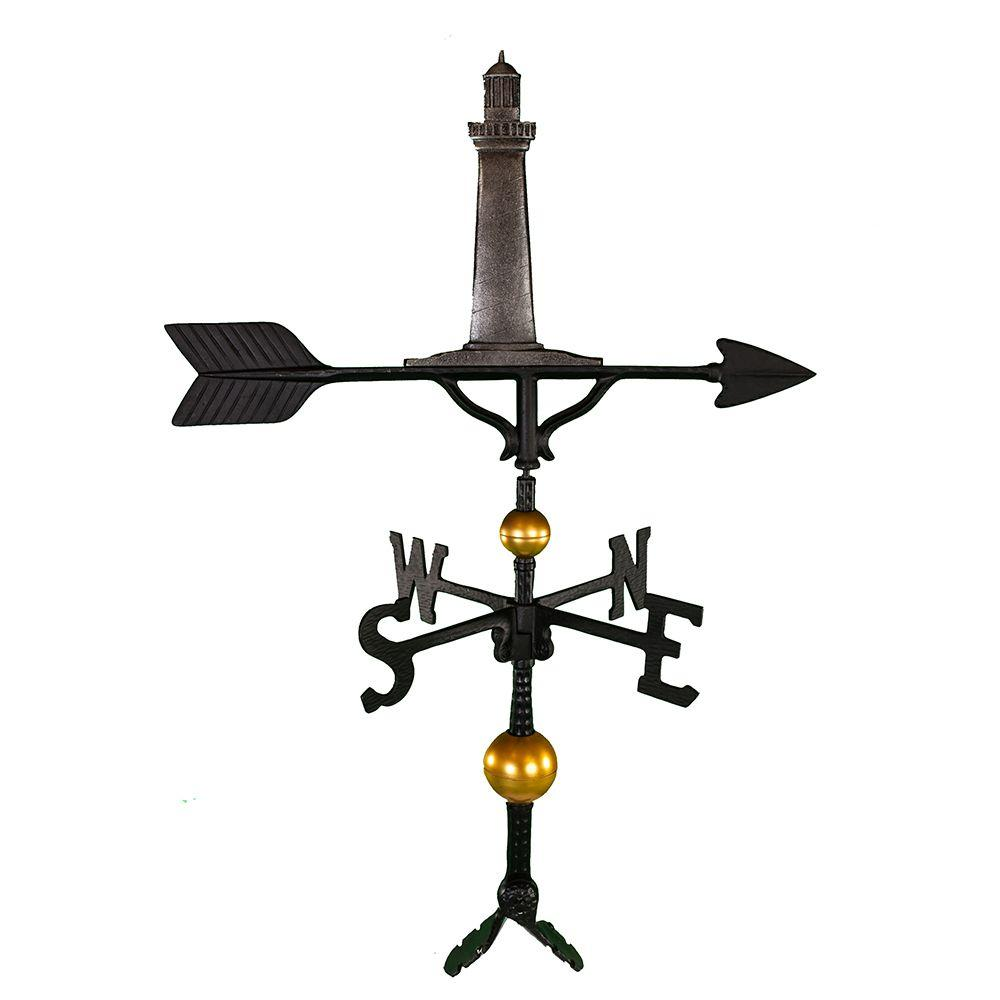 32 in. Deluxe Swedish Iron Cape Cod Lighthouse Weathervane