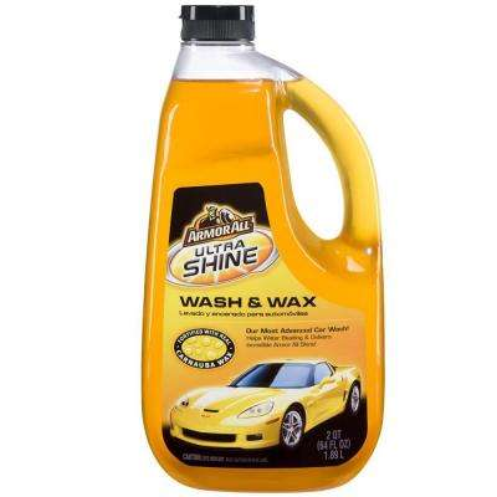Car Wash Supplies Near Me >> 64 Oz Ultra Shine Wash And Wax