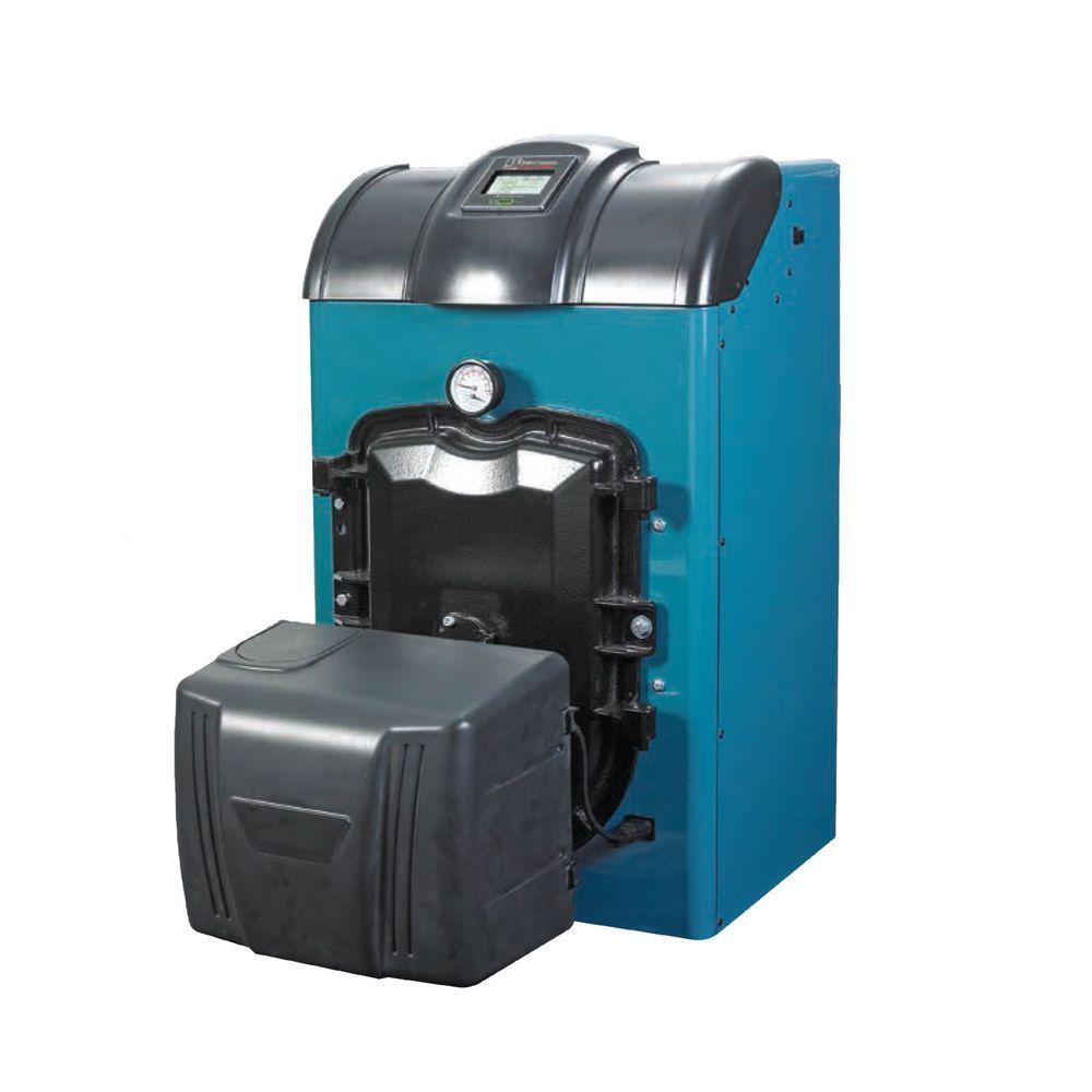 null MPO-IQ Oil Cast Iron Water Boiler with 88,000 BTU