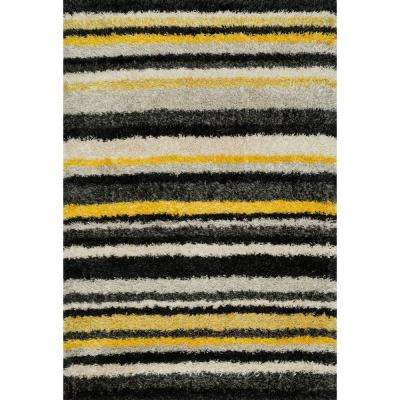 Cosma Lifestyle Collection Yellow/Multi 7 ft. 7 in. x 10 ft. 5 in. Area Rug