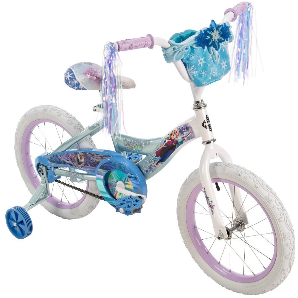 6626ac8c5c3 Huffy 16 in. Girls Disney Frozen Bike-21398 - The Home Depot