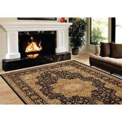 Majestic Black 9 ft. 2 in. x 12 ft. 5 in. Area Rug