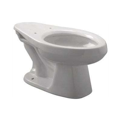 EcoVantage 1.28 GPF Elongated Toilet Bowl Only in White