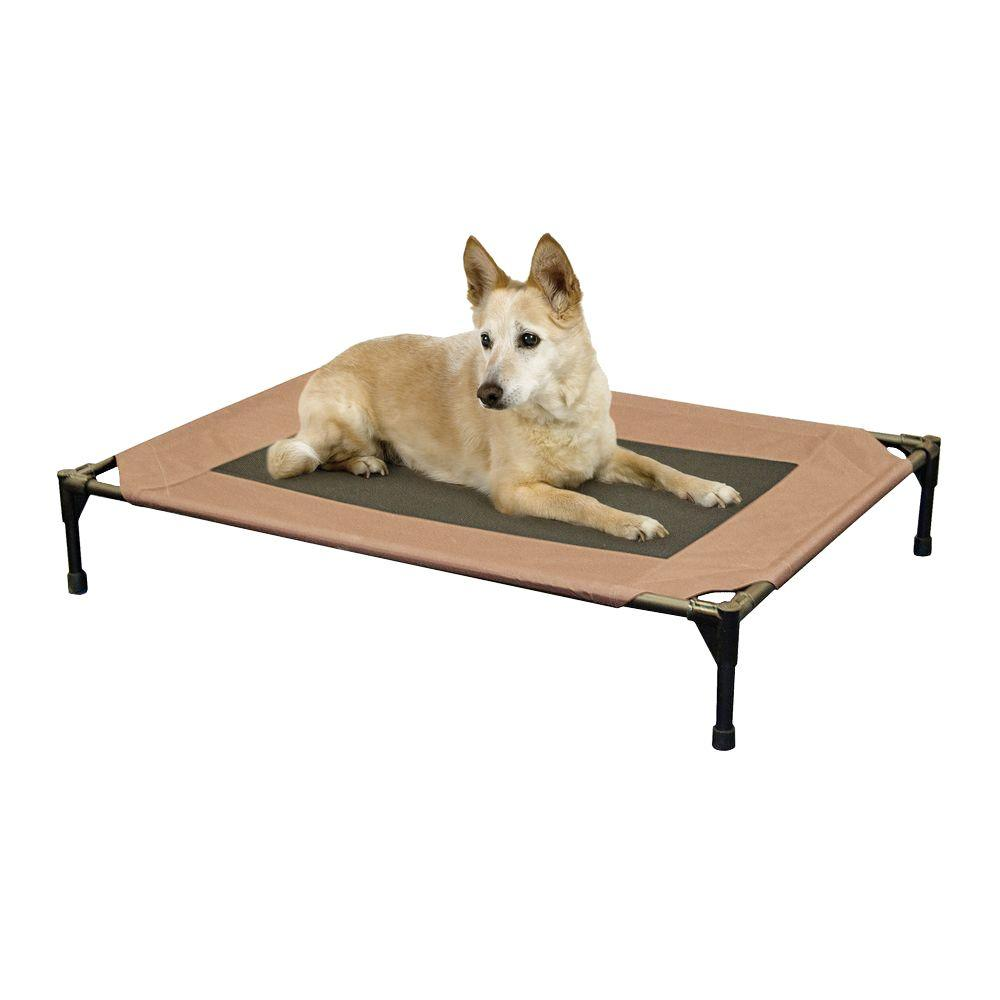K&H Pet Products Large Chocolate Pet Cot