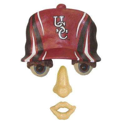 14 in. x 7 in. Forest Face University of South Carolina