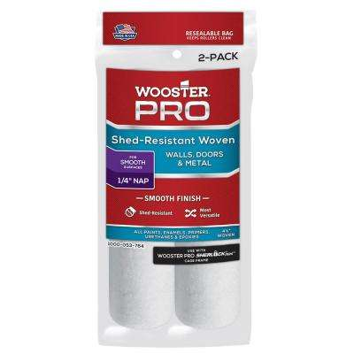 4-1/2 in. x 1/4 in. High-Density Pro Woven Mini Roller Covers (2-Pack)