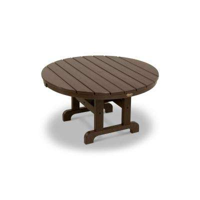 Cape Cod Tree House 36 in. Round Patio Conversation Table