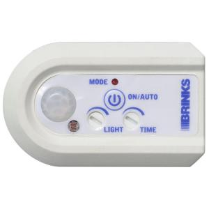 Click here to buy Brinks Home Security Indoor Digital Timer with Plug-In Motion Sensor by Brinks Home Security.