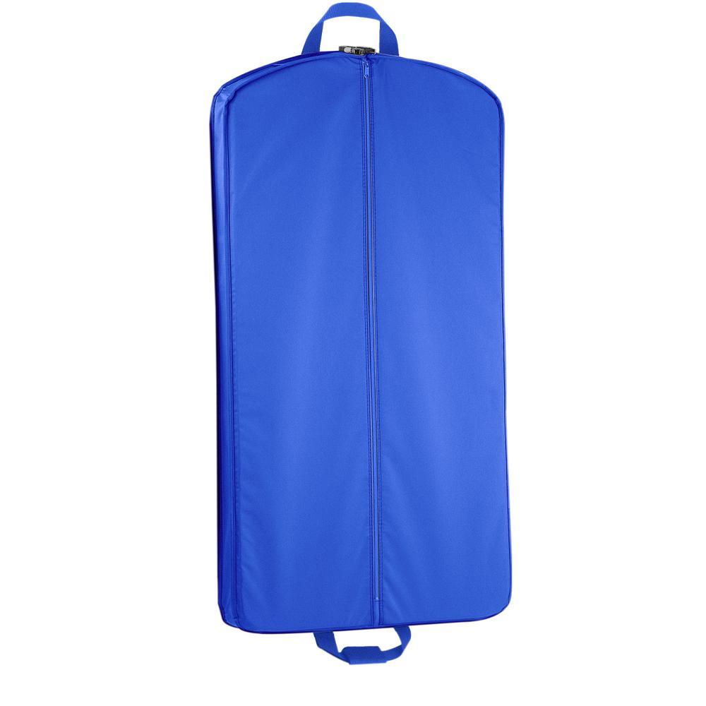 e2e4d87594b8 WallyBags 52 in. Royal Blue Dress Length Carry-On Garment Bag 757 ...
