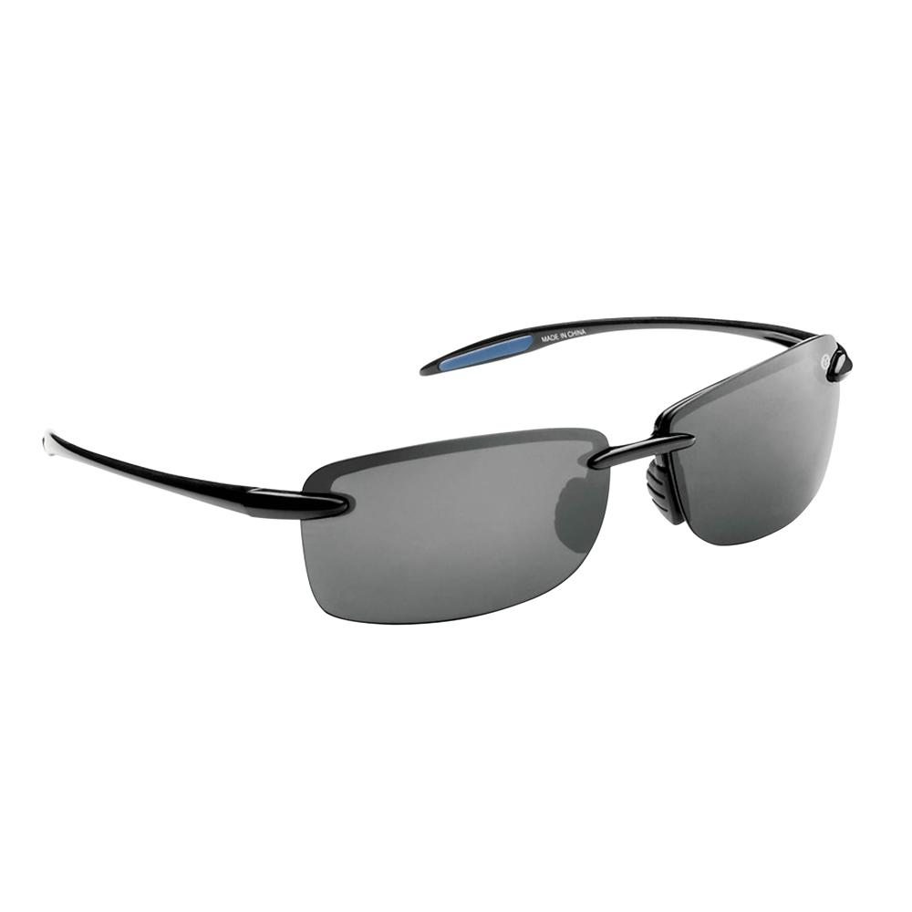 97d85023aed8 Flying Fisherman Cali Polarized Sunglasses Black Frame with Smoke Lens