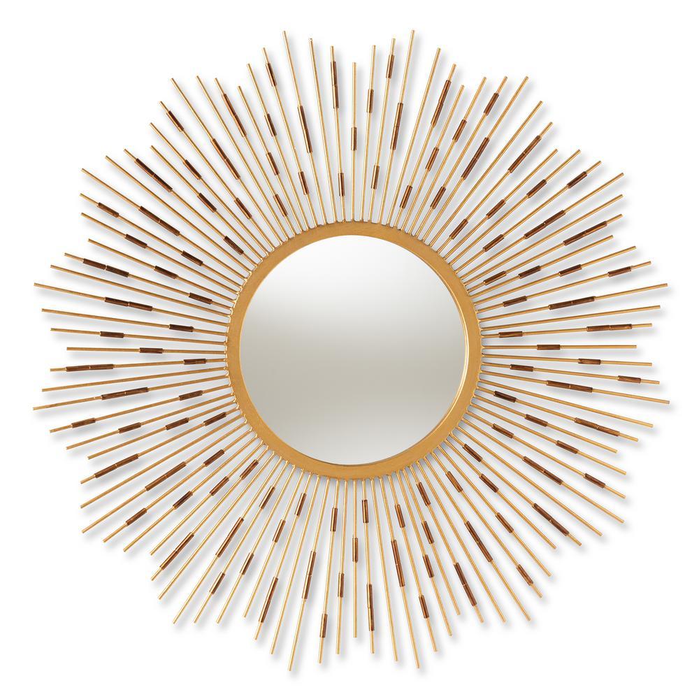 Apollonia Gold Wall Mirror