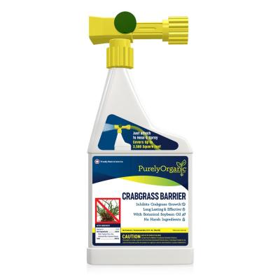 Purely Organic Products LLC Pure Defense Crabgrass Barrier 32oz. Hose End Lawn Crabgrass Preventer
