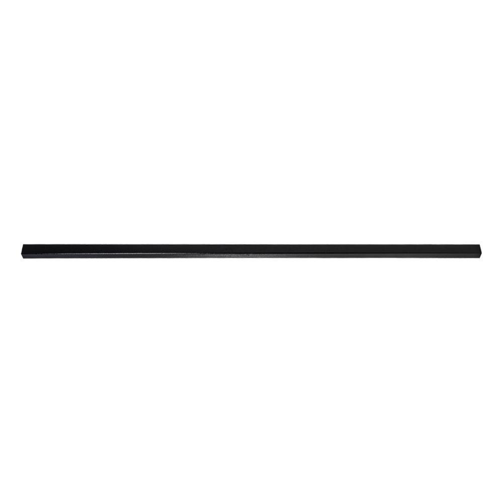 YARDGARD Select 8 ft. x 1.8 in. x 2.5 in. Steel Top Rail
