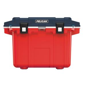 Deals on Pelican 50 Qt. Elite Cooler Americana Red Blue White