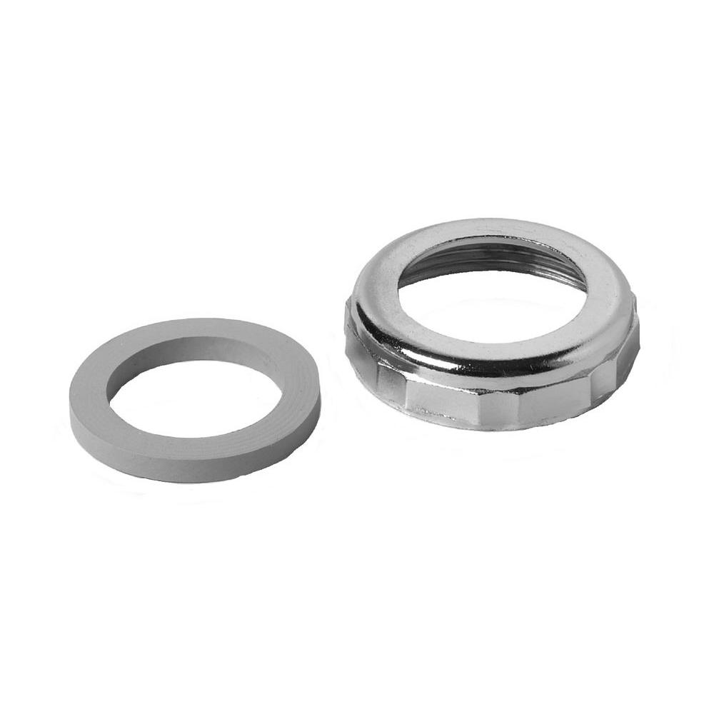 Plumb Pak  1-1//2 in Zinc  Slip Joint Nut Dia
