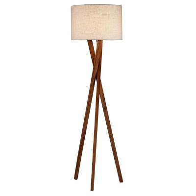 Brooklyn 63 in. Walnut Floor Lamp