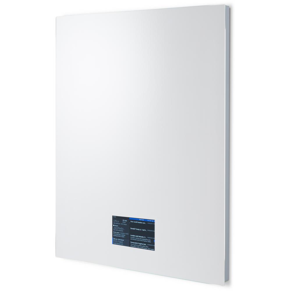 Ad Notam Smart Mirror 60 24 In W X 30 In H Frameless