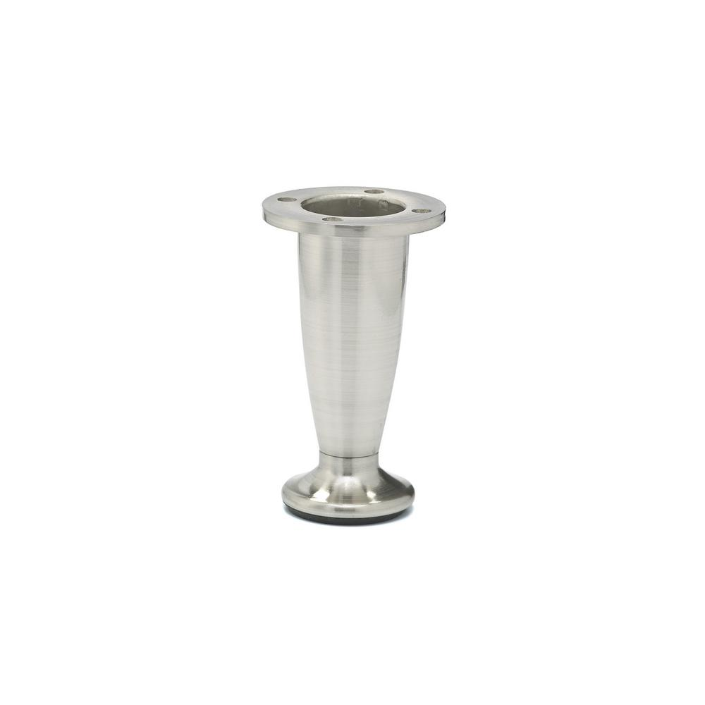 Richelieu Hardware 4 In Furniture Leg Bp40740195 The Home Depot