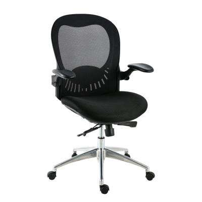 Xavier Mesh Black Office Chair