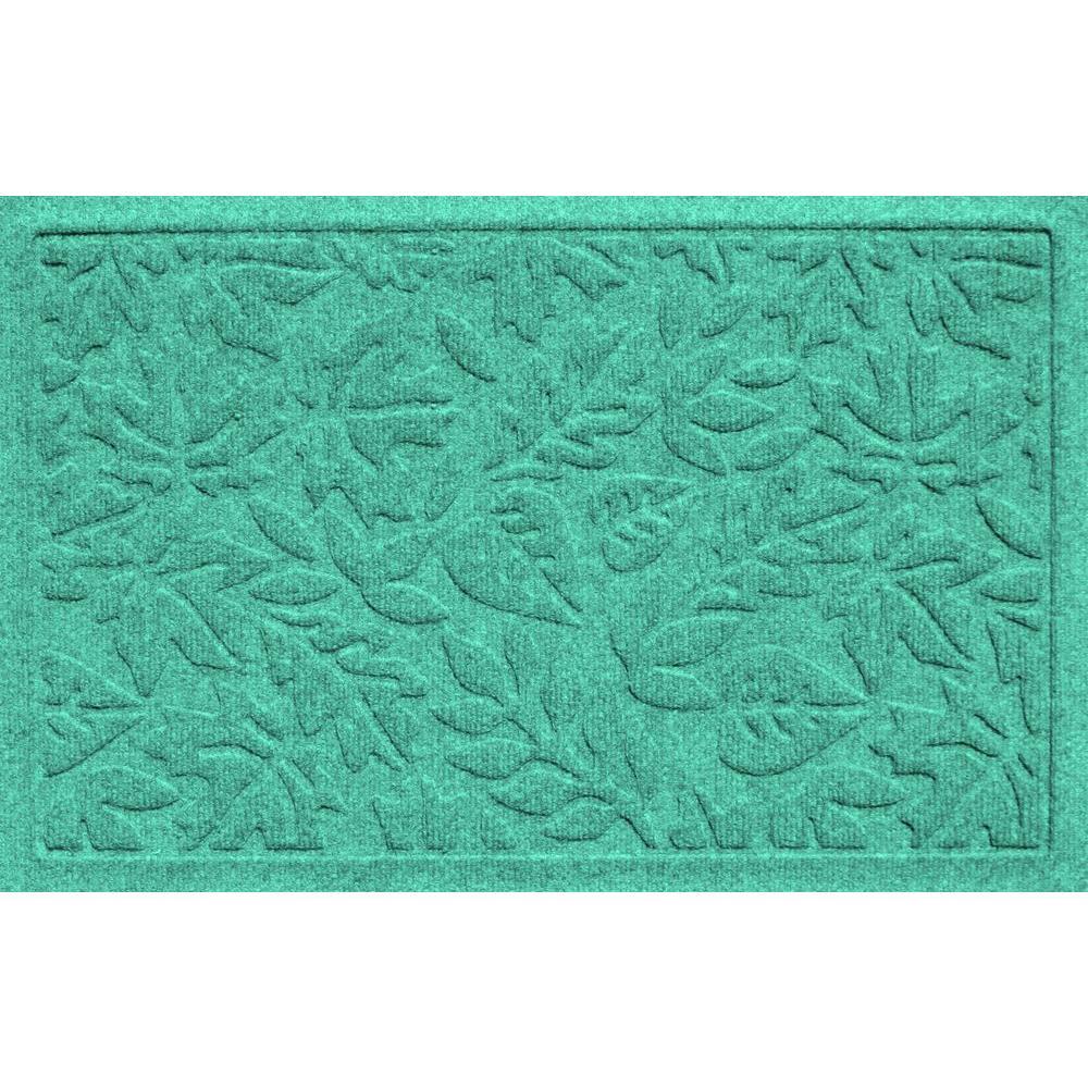 Bungalow Flooring Aqua Shield Fall Day Aquamarine 17.5 In