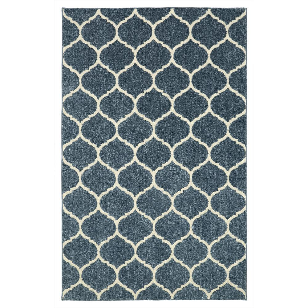 mohawk home american rug craftsmen nomad kalispell blue 10 ft x 14 ft indoor area rug 522261. Black Bedroom Furniture Sets. Home Design Ideas