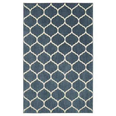 American Rug Craftsmen Nomad Kalispell Blue 10 ft. x 14 ft. Indoor Area Rug