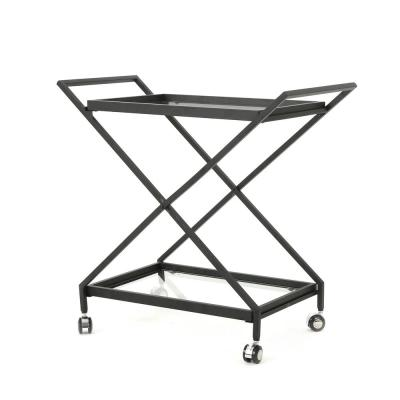 Annika Outdoor Patio Bar Cart