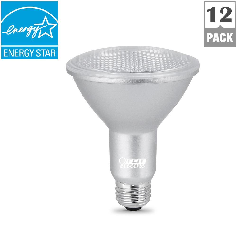 75W Equivalent Warm White PAR30L Dimmable LED Medium Base Spot Light