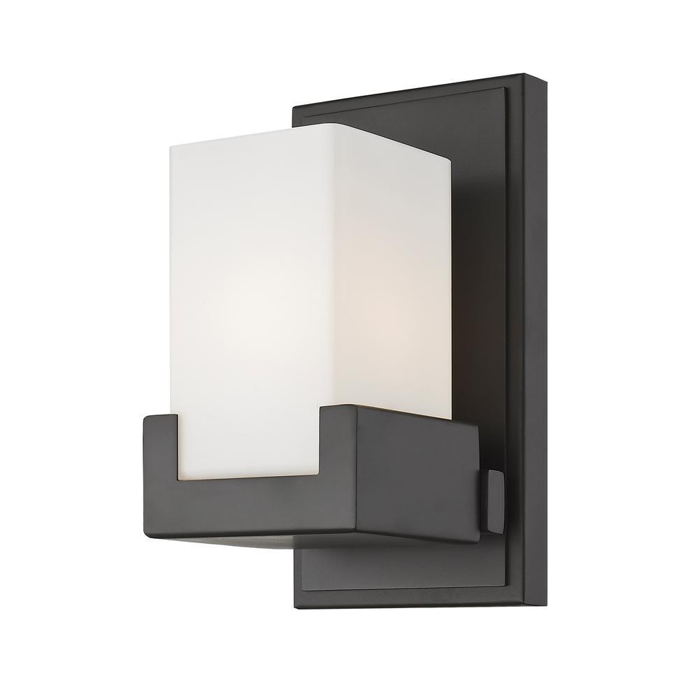 Park Bronze 8-Watt Integrated LED Bath Light