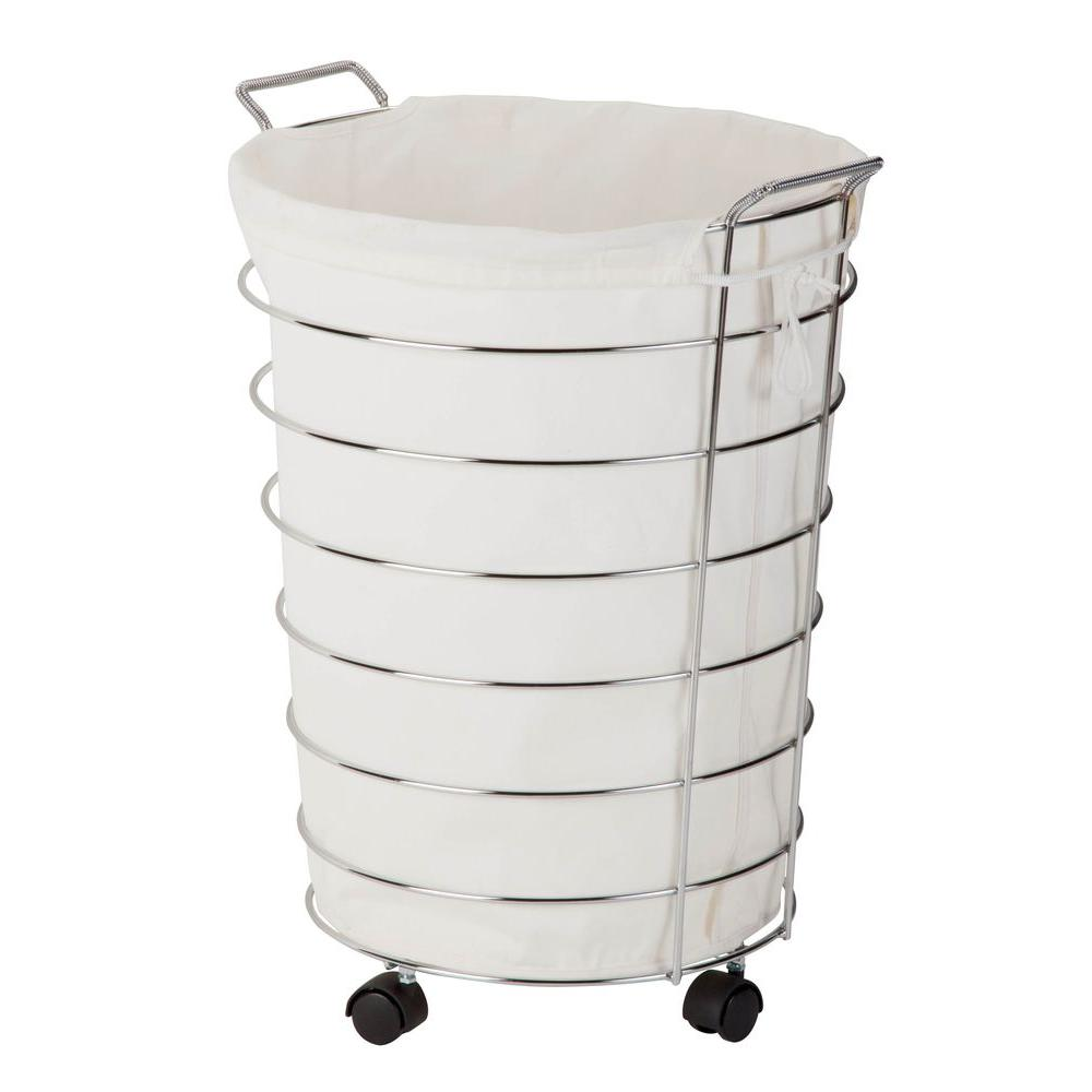 Honey-Can-Do Rolling Hamper with Removable Laundry Bag