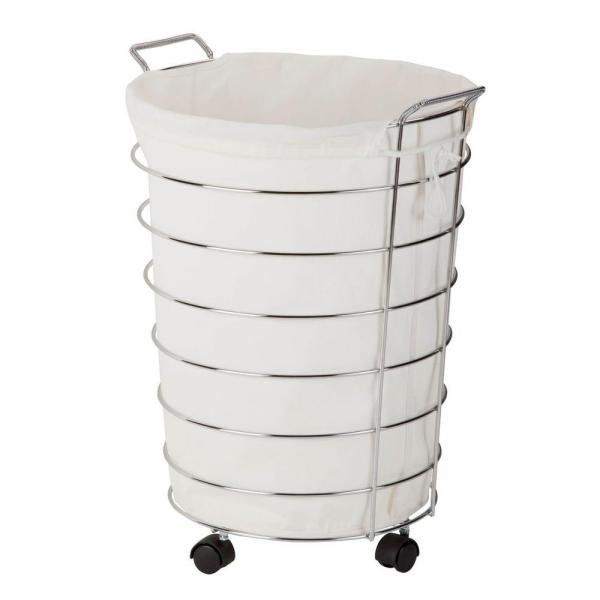 Rolling Hamper with Removable Laundry Bag