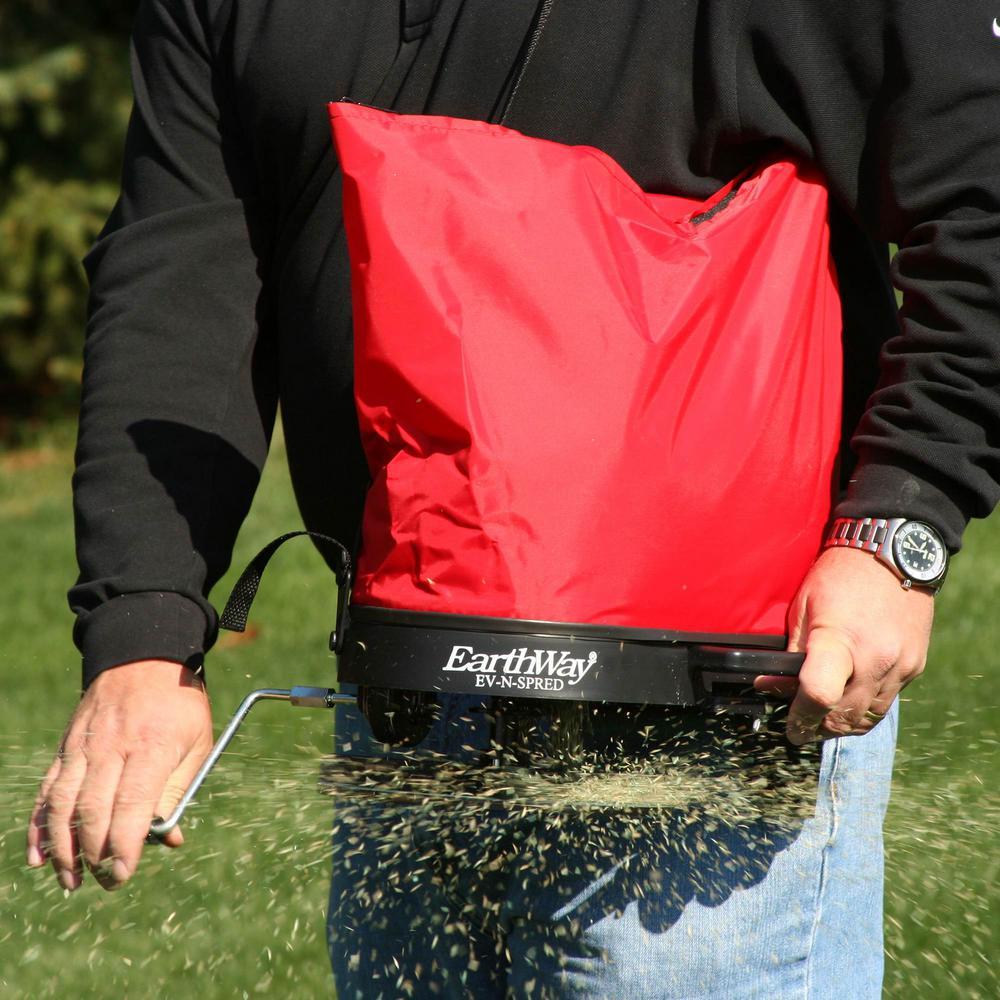 Expert Gardener Hand Held Manual Spreader Broadcast Seed Fertilizer Grass Plant