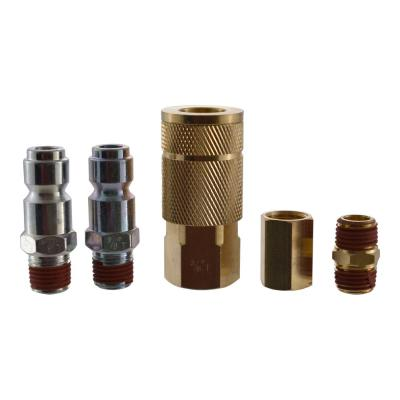 5-Piece 3/8 in. Automotive-Style Quick-Connector Kit