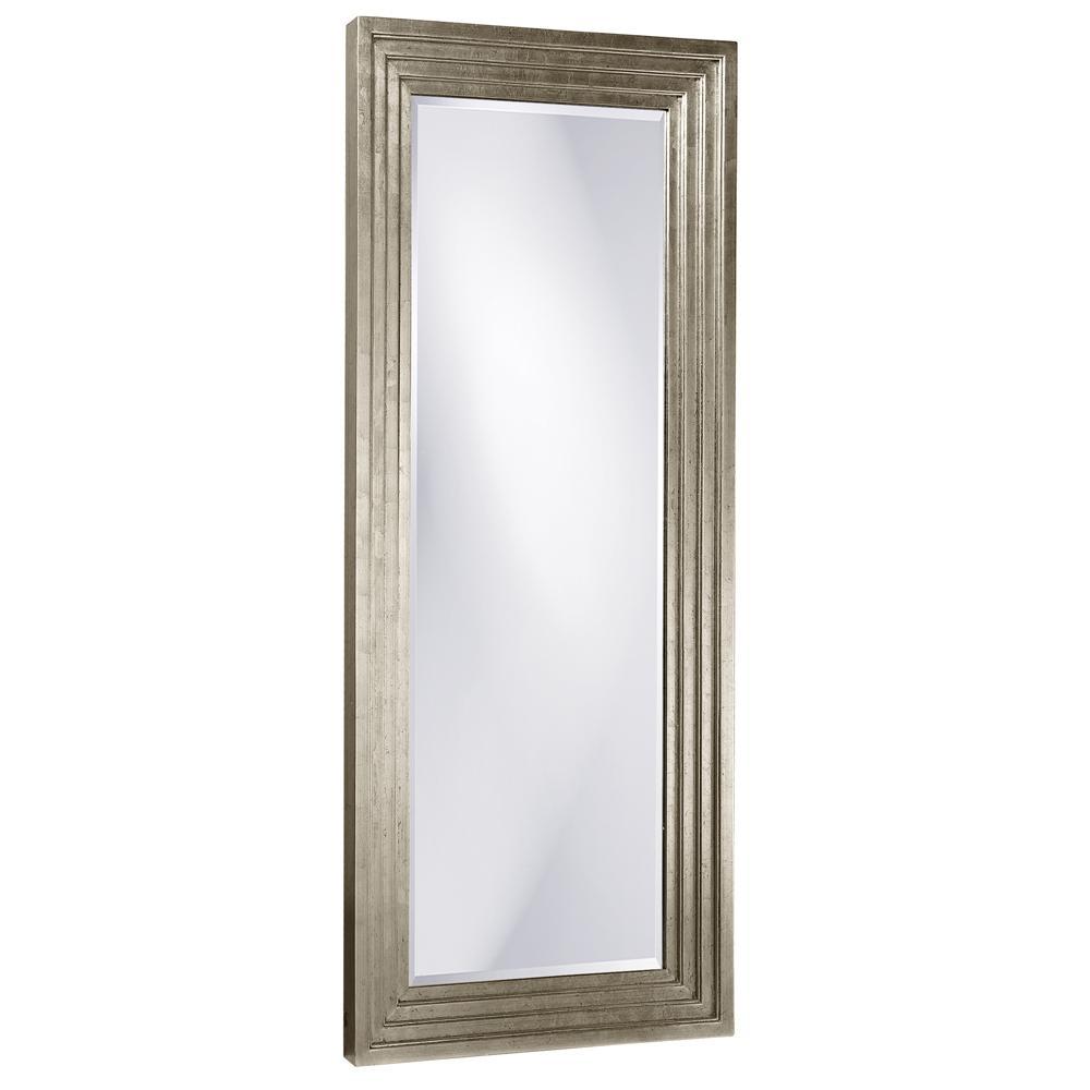 Delano Tall Silver Mirror