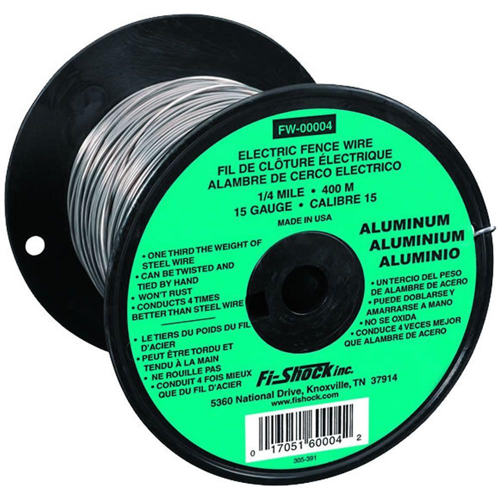 Zareba mile gauge aluminum wire fw the home