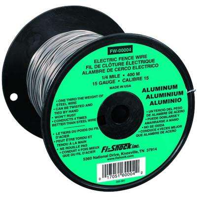 1/4-Mile 15-Gauge Aluminum Wire