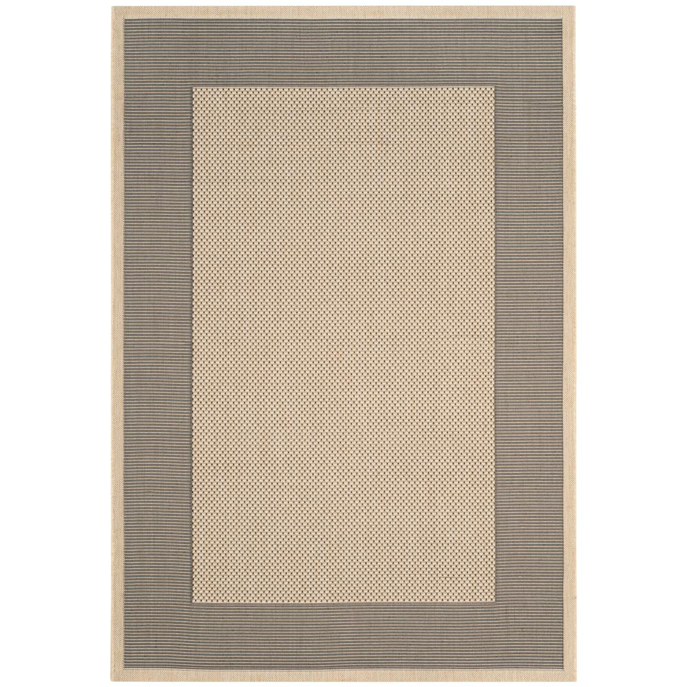 Courtyard Gray/Cream 5 ft. 3 in. x 7 ft. 7 in.