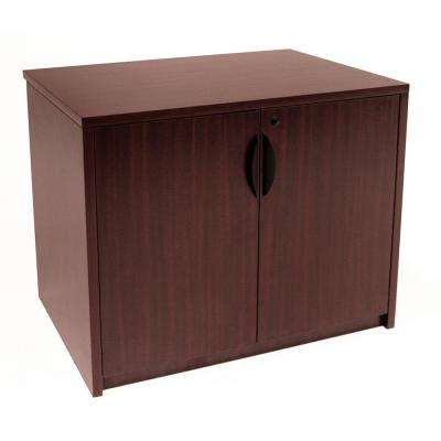 Legacy 29 in. Mahogany Storage Cabinet