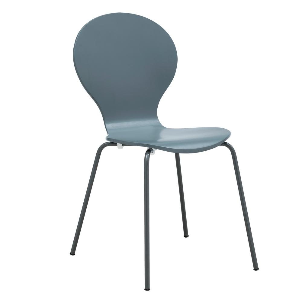 Gray Petal Dining Chair