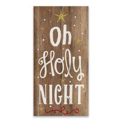 """""""O Holy Night"""" by Lot26 Studio Printed Canvas Wall Art"""