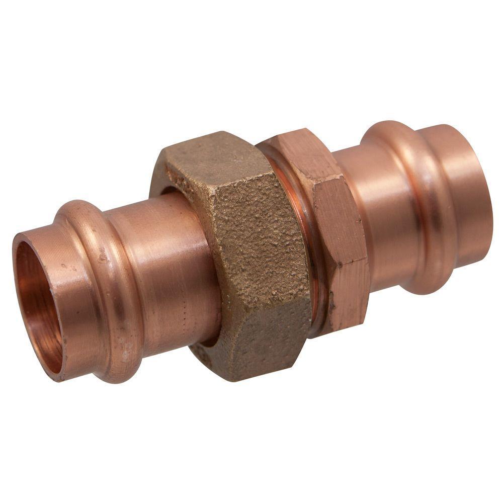 In copper press pressure union cpc